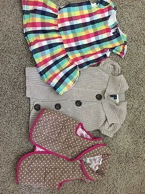 Lot Of Baby Girl Clothes Size 18-24 Months Gap And Target