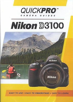Nikon D3100 by QuickPro Camera Guides (A Tutorial DVD)