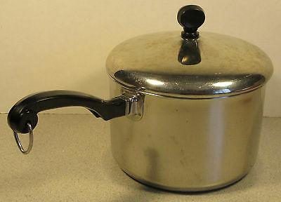 Farberware Classic 2 1/2 Quart Qt. Stainless Steel Pan With Lid
