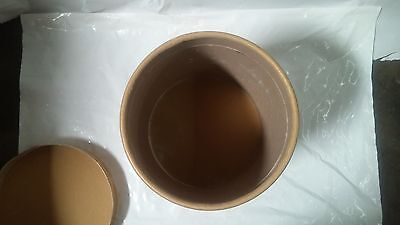 Used 10Gal Fiber Drum Barrel Re usable Used