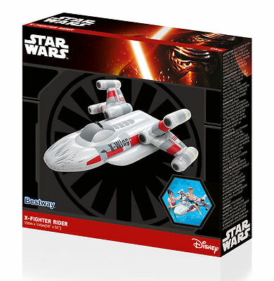 Nave Espacial Hinchable Star Wars X-Fighter 150x140 cm colchón Inflable Bestway