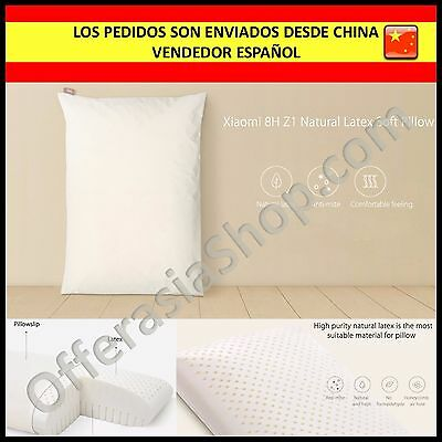 Almohada Latex Original Xiaomi 8H Z1 Anti Acaros Pillow Anti Mite 60x40x13cm