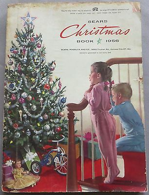 Vintage 1956 Sears Roebuck & Company Christmas Book Wishbook Catalog
