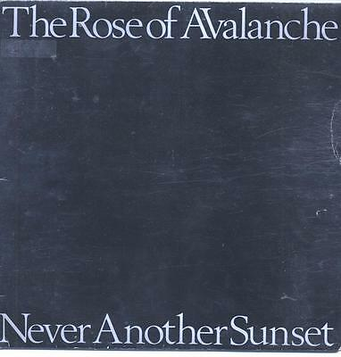"""The Rose Of Avalanche - Never Another Sunset - 12"""" Vinyl Lp"""