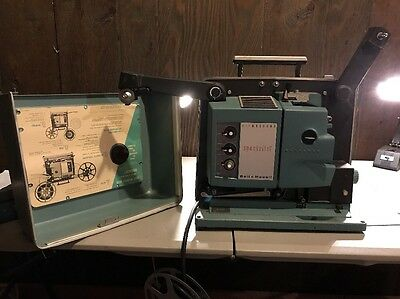 VINTAGE Bell & Howell 552 FILMOSOUND Autoload SPECIALIST FILM PROJECTOR SOUND