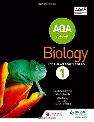 AQA A Level Biology Student Book 1 (AQA A level Science) by Smith, Mark Book The