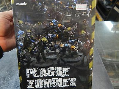Plague Zombies  by Mantic plastic model kit