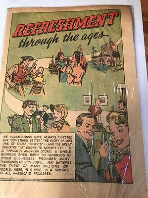 Coca-Cola Comic book Coke advertisement vintage 1951 ad vintage