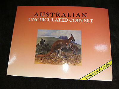 Australian Downies Sherwood Uncirculated 8 Coin Set Includes 1 And 2 Cents