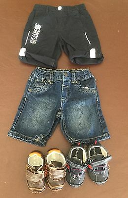 Toddler Boys Clothing - Shorts (size 1) And Shoes