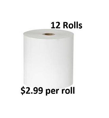 12 Rolls 80x80mm Thermal Paper, Cash Register, Receipt Rolls
