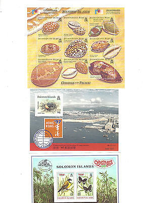 SOLOMON ISLANDS MINT STAMP Stamp sheets * 6 DIFFERENT MINT