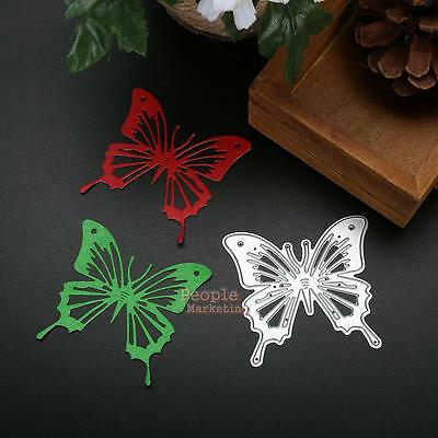 Butterfly Metal Cutting Dies Stencil DIY Scrapbook Album Paper Cards Craft Gifts
