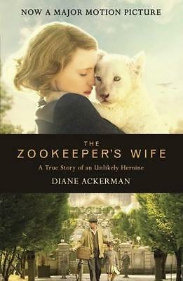 NEW The Zookeeper's Wife By Diane Ackerman Paperback Free Shipping