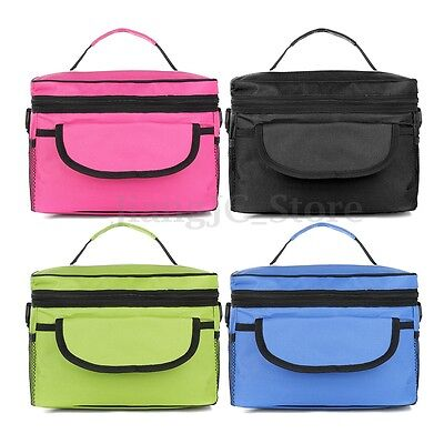 Thermal Cooler Waterproof Insulated Portable Tote Picnic Lunch Bag Storage Box
