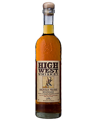 High West American Prairie Bourbon Whiskey 750mL case of 6 American Whiskey