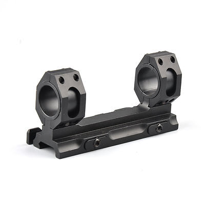 "US Heavy Duty 1"" 30mm Ring QD Auto Lock 20mm Picatinny Rail Scope Mount Aluminum"