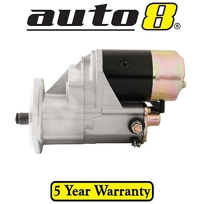 Heavy Duty Starter Motor To Fit Ford Maverick Da 4.2L Diesel (Td42) 1988 To 1994