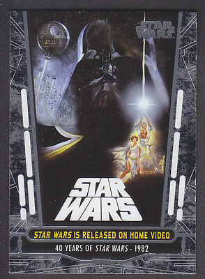 Topps Star Wars - 40th Anniversary - Base Card # 66