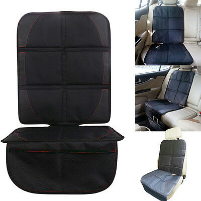 Universal Car Seat Protector PU Leather Children Baby Seat Cover Anti-Kick Mat
