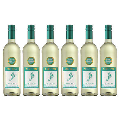 Barefoot Moscato 6x75cl White Wine Case Gold Medal Winning Wine - Drinks21