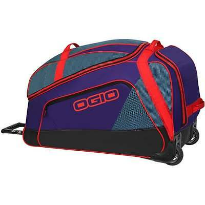 OGIO Big Mouth Wheeled MX Motocross Enduro Riding Gear Kit Bag - Tealio