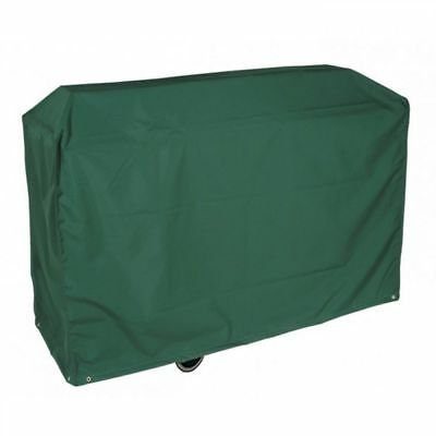 Bosmere Simply Garden Outdoor Super Grill Trolley Barbecue BBQ Cover - Green