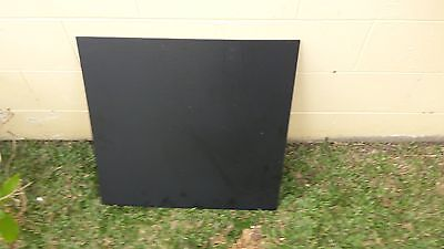 Black HDPE sheet, board 600 x 600 x 6mm
