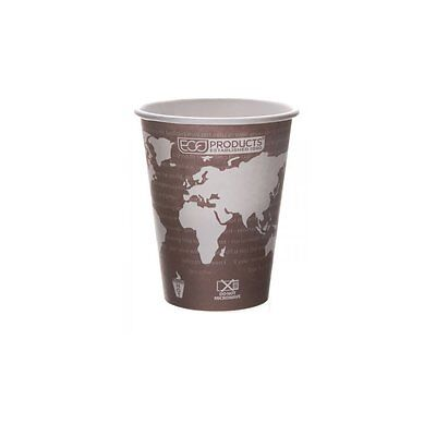 Eco-Products - Renewable & Compostable Hot Cups - 8 oz. Coffee Cup - EP-BHC8-WA