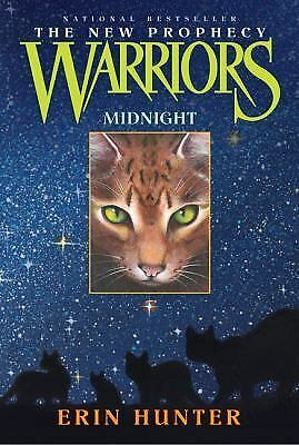 Warriors the New Prophecy: Midnight 1 by Erin Hunter (2006, Paperback)