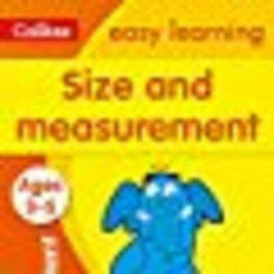 Size and Measurement Ages 3-5: New Edition (Collins Easy Learning Preschool), Co