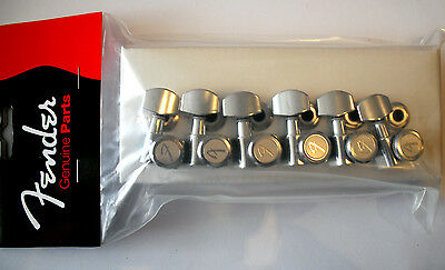NEW Genuine Fender Locking Tuners, Chrome