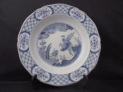 Antique Blue and White Bowl Furnivals Ltd Old Chelsea Pattern Circa 1915
