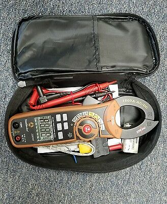 New Southwire 22070T AC/DC True RMS Clamp Meter