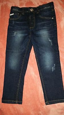 Boys Size 4-5 Distressed River Island Jeans