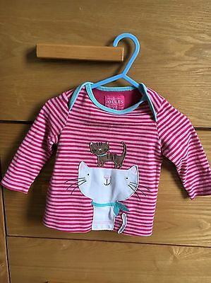 Joules Baby Girl Top 6-9 Months