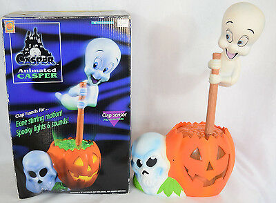 Casper the Friendly Ghost Halloween Decor Animated Talks Moves Trendmasters