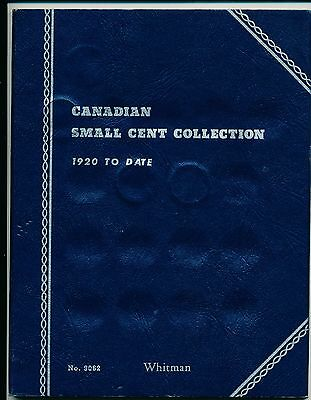 Canadian Small Cent Collection 1924-1968  - 26 coins