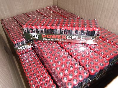 1000X AA Batteries Joblot Powercell Bulk Bargain EXP12/2018 UK