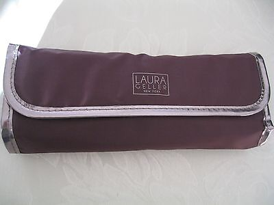 Laura Geller Brushes and Brush Roll Set Brand New Without Box.