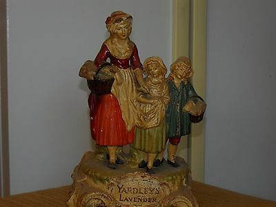 Yardley's of London Lavender advertising figurine