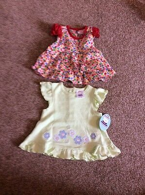 Two Baby 3-6 Months Dresses New