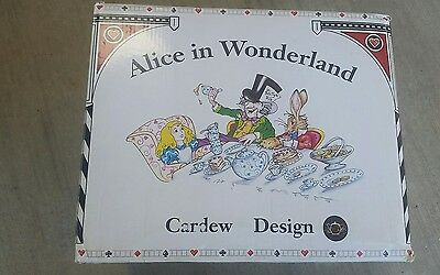 Brand New Alice in Wonderland Madhatter's Tea set Paul Cardew Design 12 pc