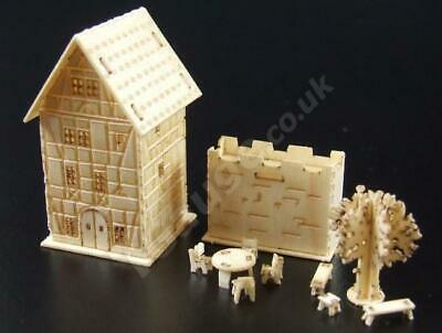 T Gauge 1:450 Scale Four Story House Kit