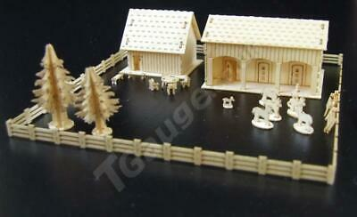 T Gauge Stable and Barn Block Kit