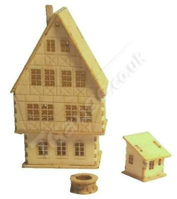 T Gauge Four Story Medieval House Kit