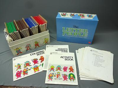 The Letter People Childcraft Reading Readiness Program Activity Set 1981
