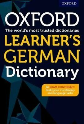 Oxford Learner's German Dictionary by Oxford University Press (Paperback, 2017)
