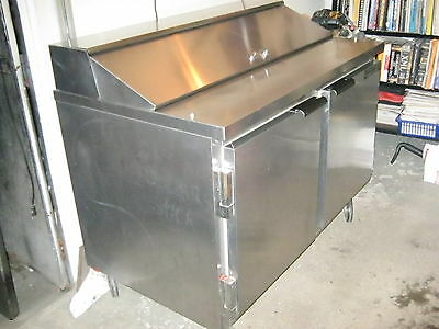 "Beverage Air SP48-12 48"" Refrigerated Sandwich/ Salad Prep Table"