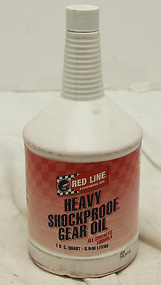 Red Line 58204 Synthetic Heavy Shockproof Gear Oil - 1 Quart